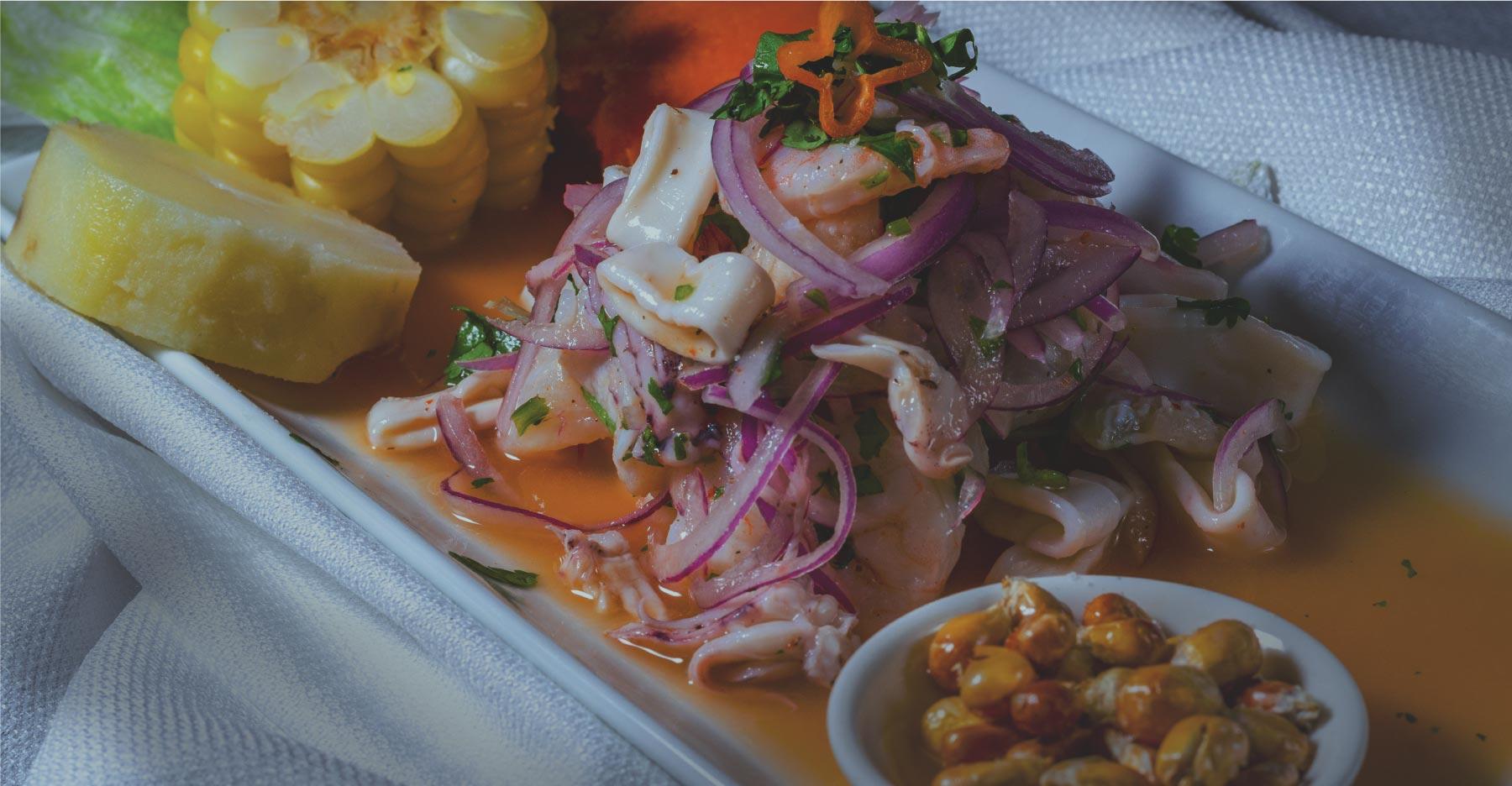 El Pollo Inka Ceviche Mixto